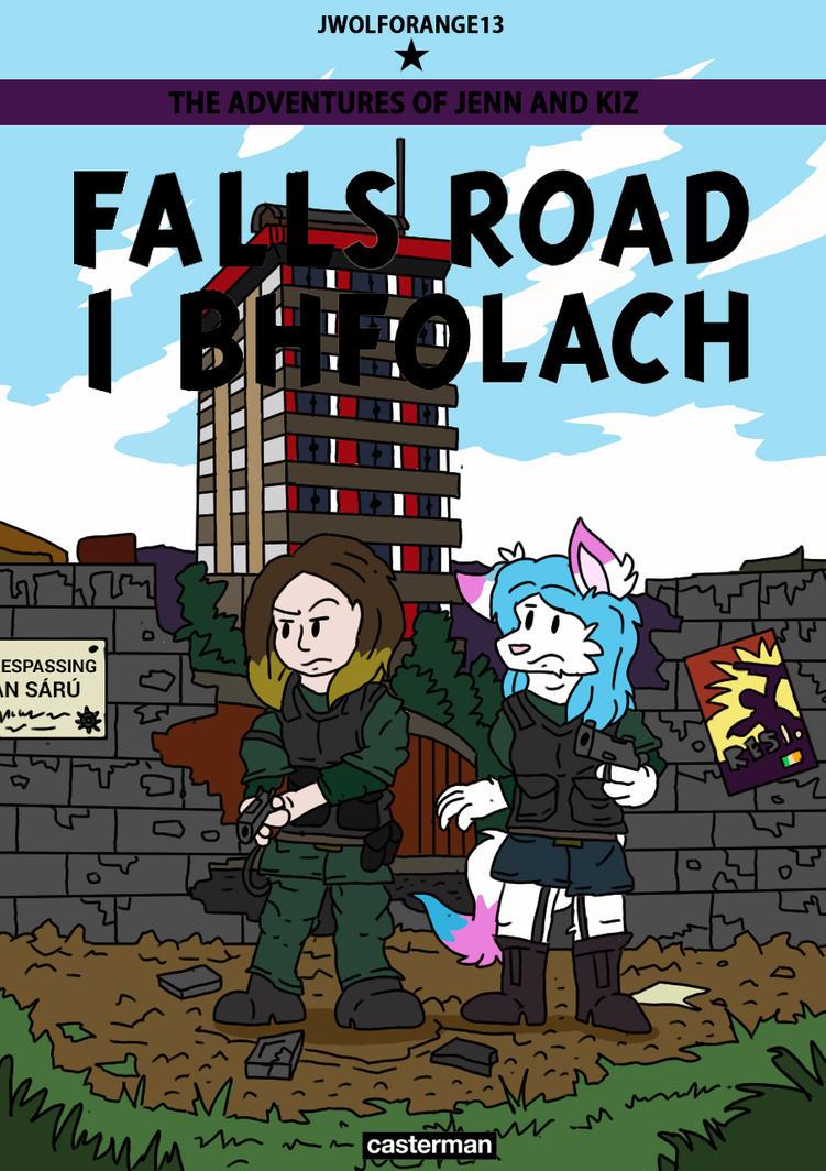 Falls Road I Bhfolach by jwolforange13