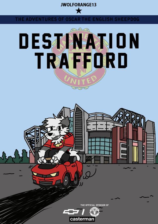 Destination Trafford by jwolforange13