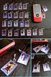 Persona Tarot Card Charms