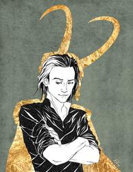 King Loki by skipaway