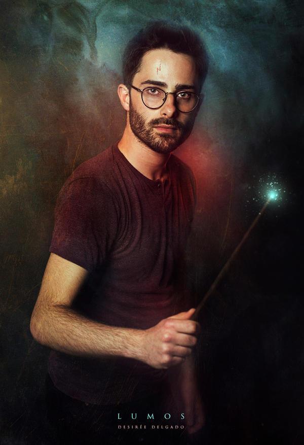 LUMOS - Harry Potter Fanart by DesireeDelgado