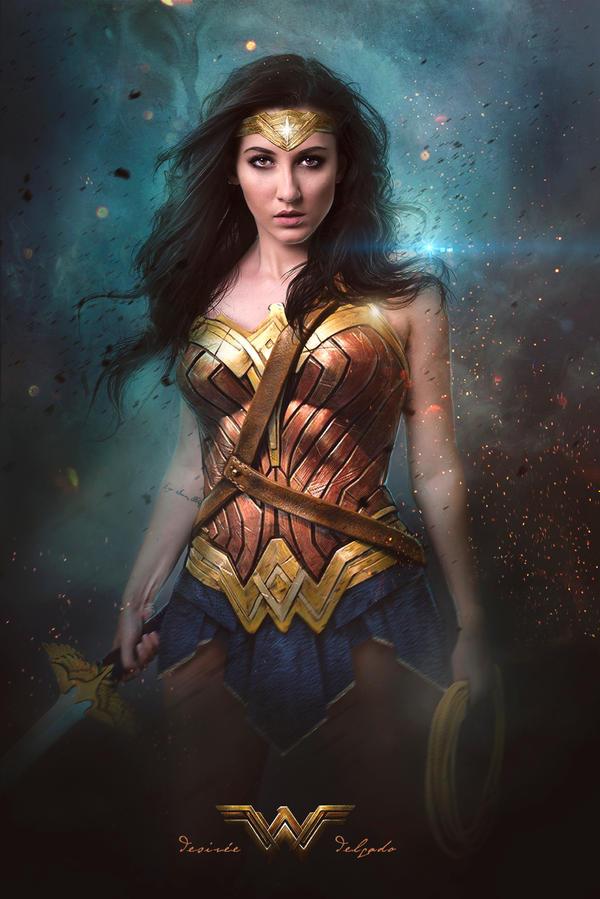Wonder Woman by DesireeDelgado