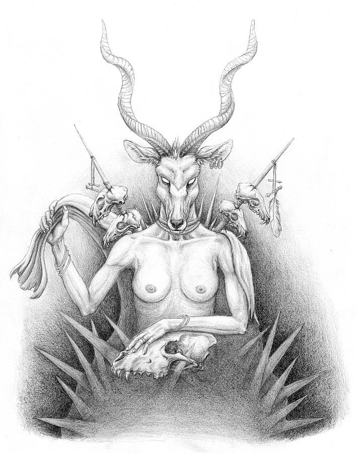 Huntress by Kwazar