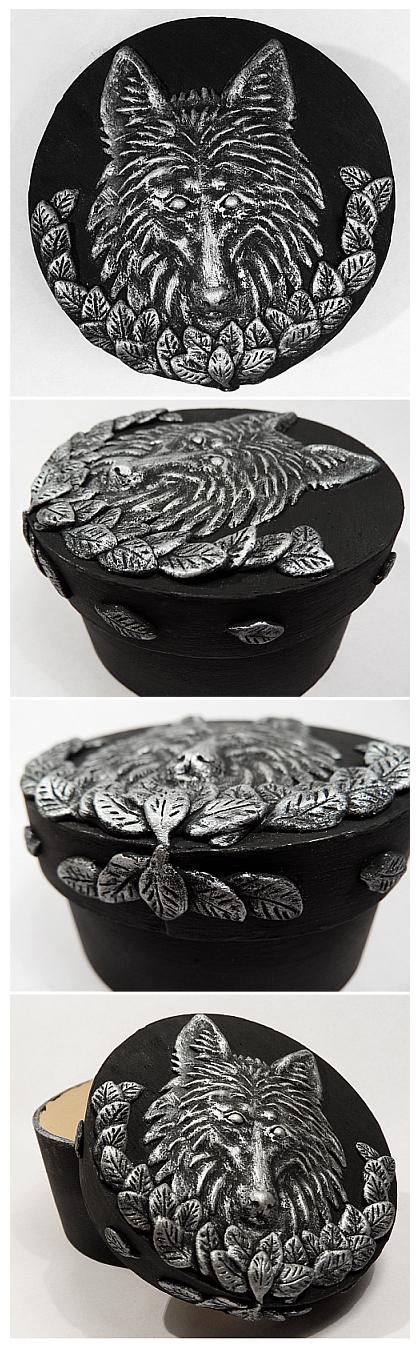 Wolf box by Kwazar