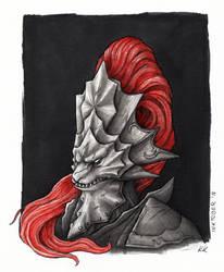 Inktober'18: Dragonslayer by Kwazar