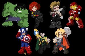 Avengers by NightLokison