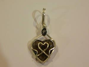 Sweet heart in silver