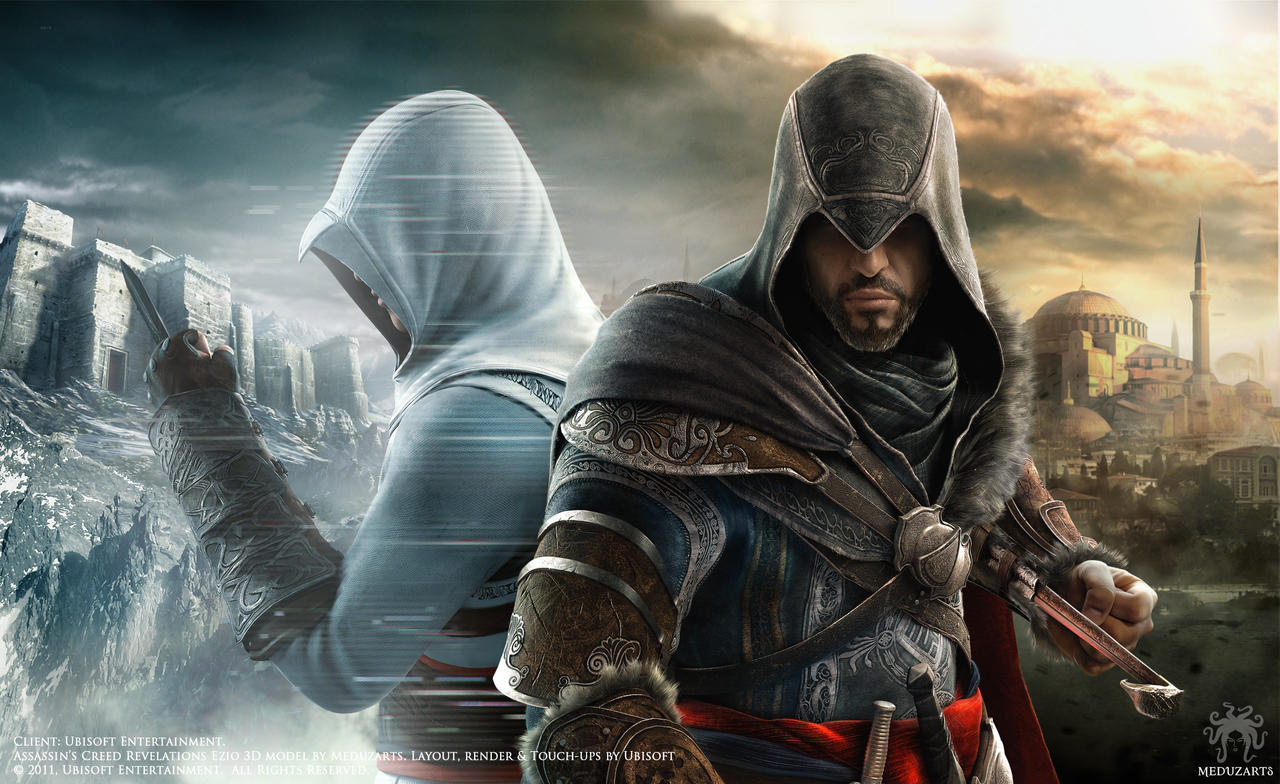 Assassin S Creed Revelations Ezio 3d Model By Meduzarts On