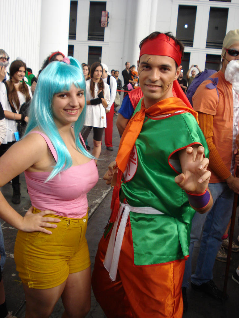 Bulma and Yamcha by claudia1542