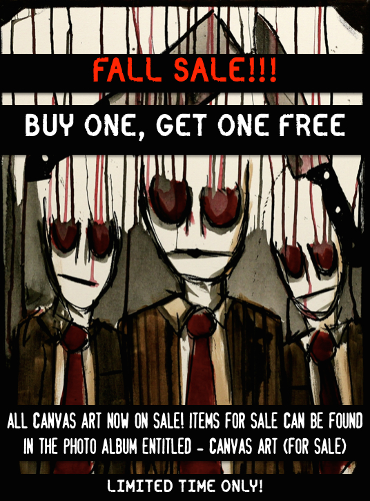 FALL SALE - BUY ONE, GET ONE FREE!!! by Manomatul