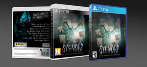 Slender Man - PS3 and PS4 Custom Cover by GrantBattersby