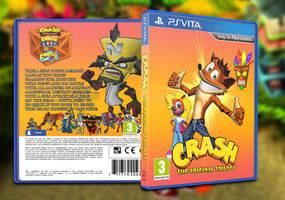 Crash Bandicoot - PS VITA Trilogy by GrantBattersby
