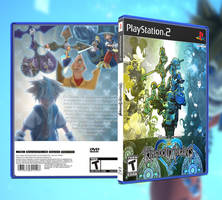 Kingdom Hearts - PS2 Custom Cover by GrantBattersby