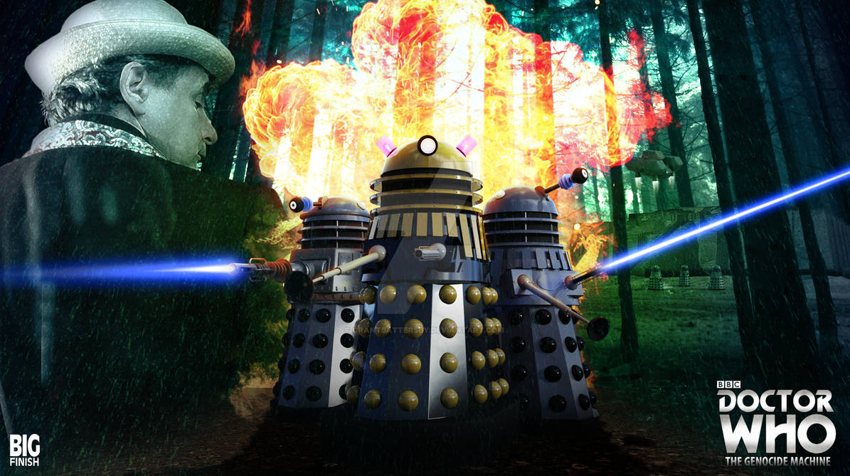 Doctor Who - The Genocide Machine Art - Big Finish