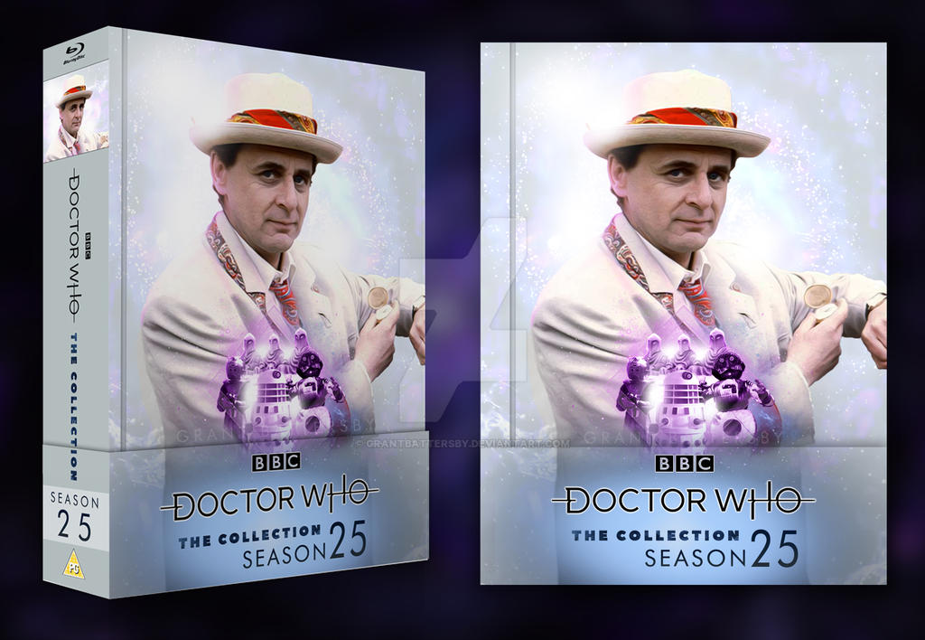 Doctor Who: The Collection - Season 25 Blu Ray V2 by GrantBattersby