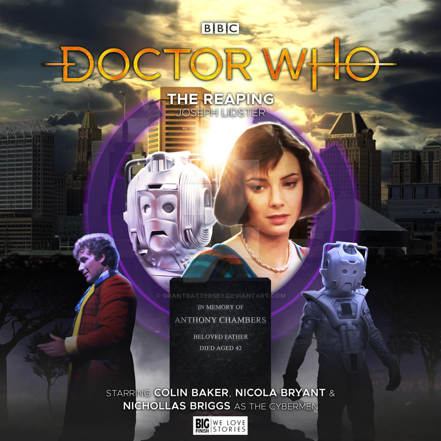 Doctor Who - The Reaping Big Finish Cover Art by GrantBattersby on