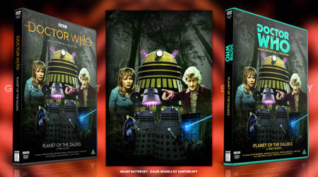 Doctor Who - Planet of the Daleks DVD Cover