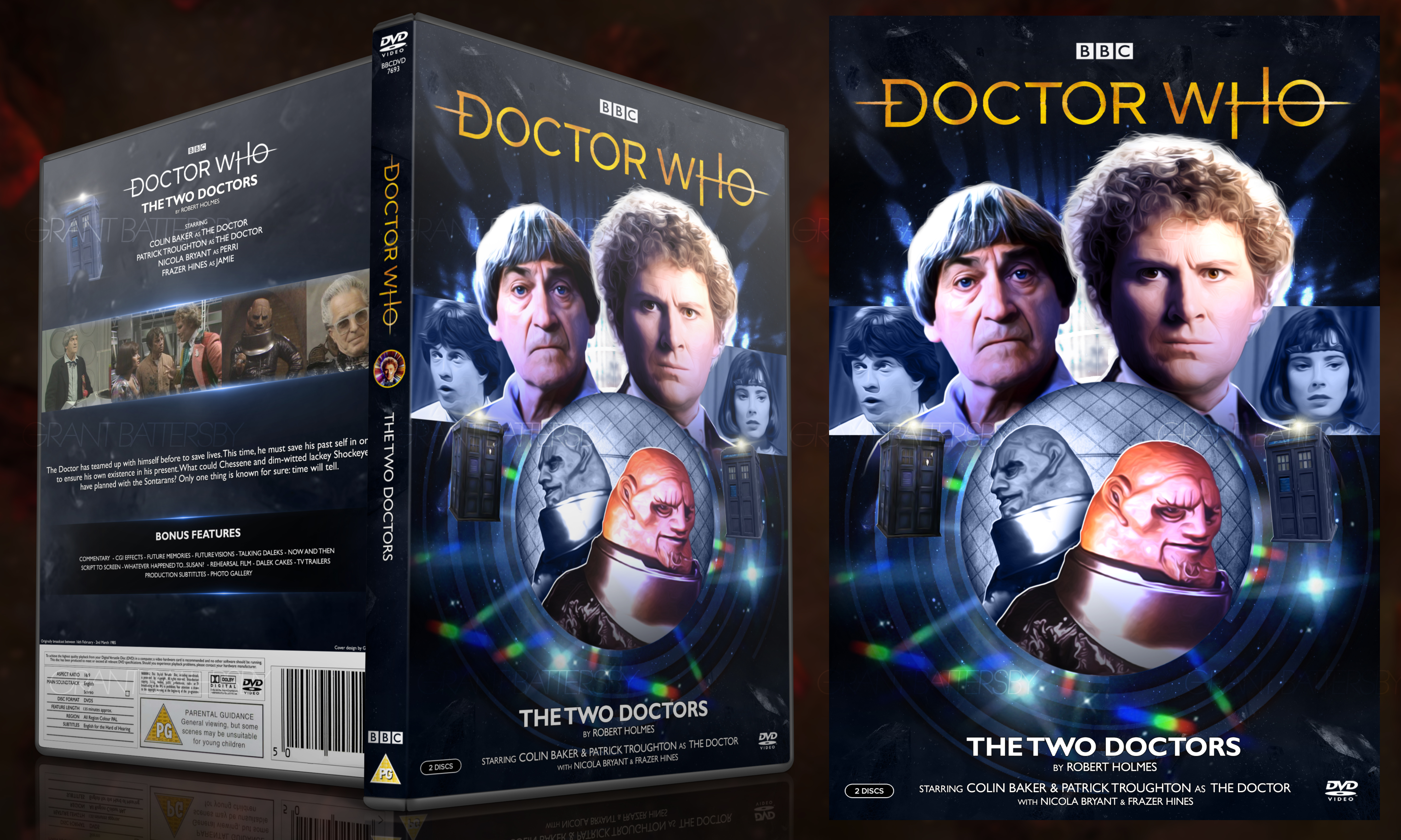 Doctor Who - The Two Doctors DVD Cover