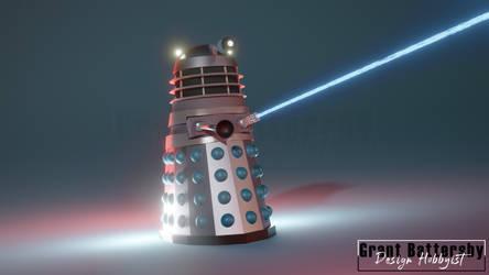 Dead Planet Dalek Blender Model