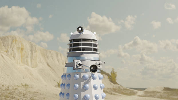 Dead Planet Dalek Blender Model Update Nov 2020