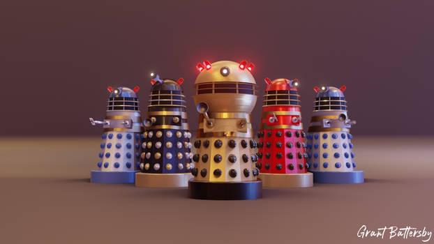 Doctor Who Cushing Movie Emperor Dalek (UPDATE)