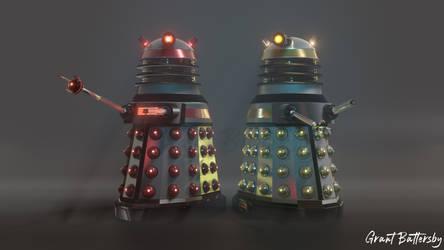 Dalek Executioner and Dalek Scientist
