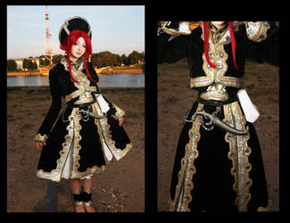 Trinity Blood -Esther Blanchett by AgnessBlanvradica