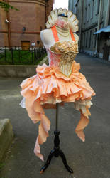 Sakizo -pearl (commission dress) by AgnessBlanvradica