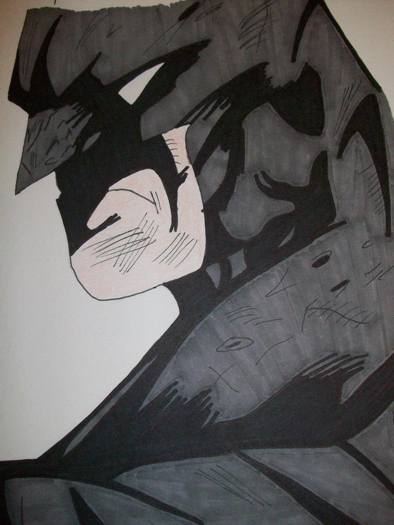 Batman Arkham City Comic Style by TheDarkKnightress