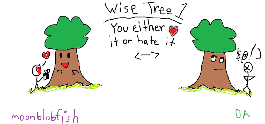 Wise Tree 1 by MoonBlobfish