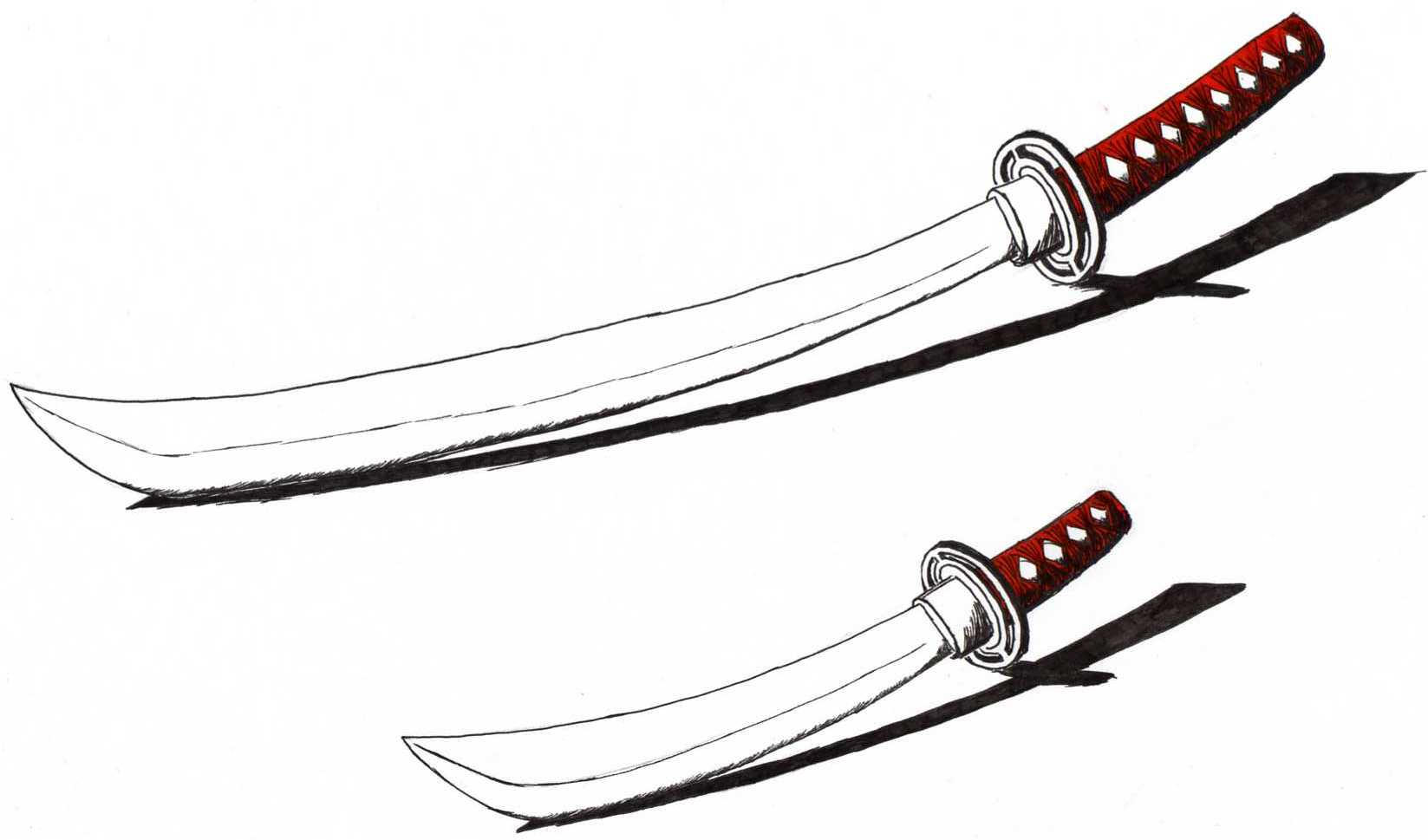 Katana with Wakizashi 2 by seventh-samurai on DeviantArt