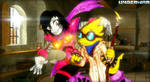 UnderTale AU - UnderWar Alphys and Mettaton
