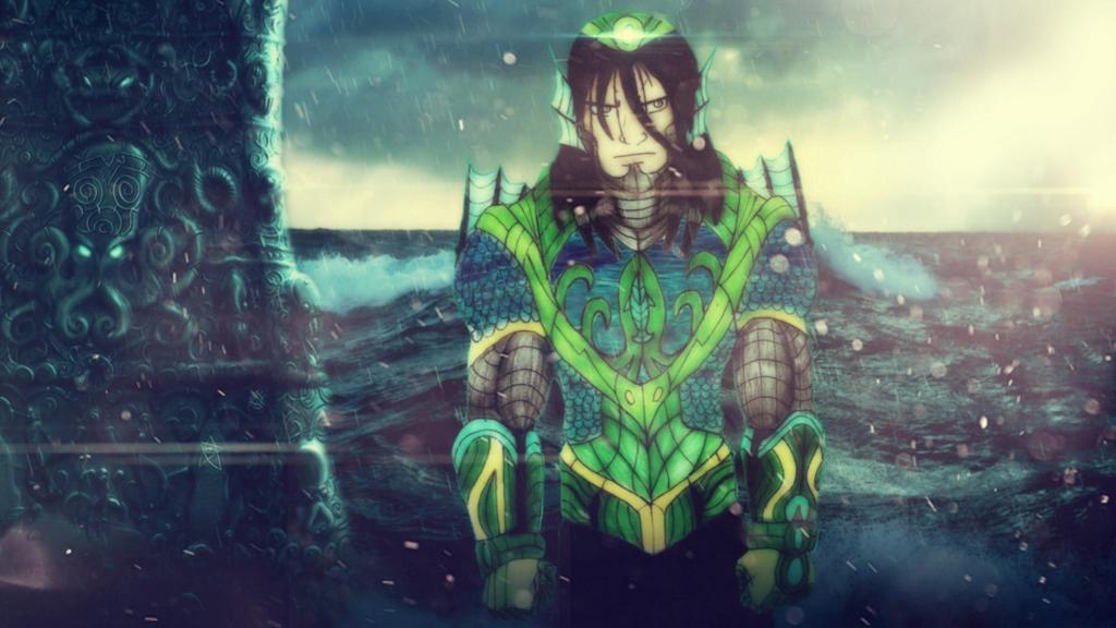 Dagon Human Form - Wallpaper by BlueWolfArtista on DeviantArt