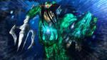 Dagon Human Form (Remake) by BlueWolfArtista