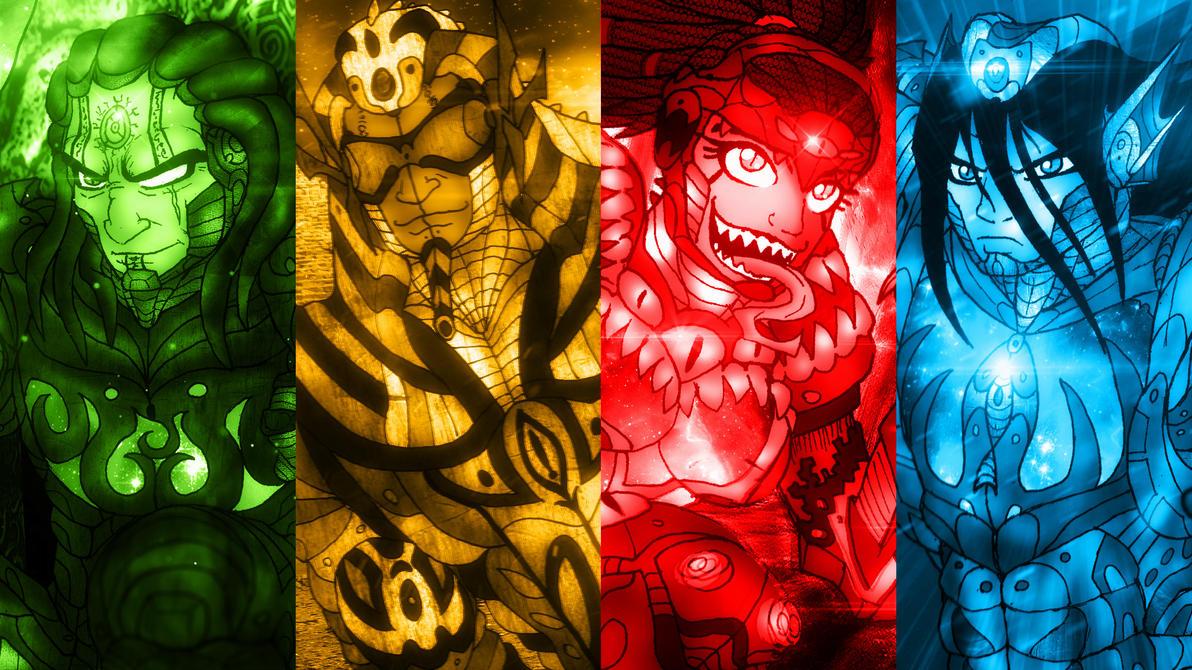 Shadows of Fear - Lovecraftian Gods by BlueWolfArtista