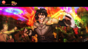 Naofumi vs Waves (The Rising of the Shield Hero)
