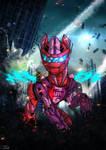 Power Ponies - Humdrum and Steel Crusader by BlueWolfArtista