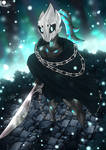 Hollow Knight OC - White Fang by BlueWolfArtista