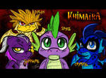 Khimaira Ch 1 - Characters Names (MLP Comic) by BlueWolfArtista