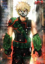 MHA Earth 2 - Villain Bakugou (Redraw)