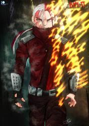 MHA Earth 2 - Villain Todoroki (Redraw)