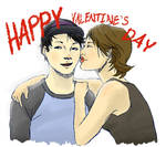 Happy V-Day from Maggie and Glenn by ProtoStrife