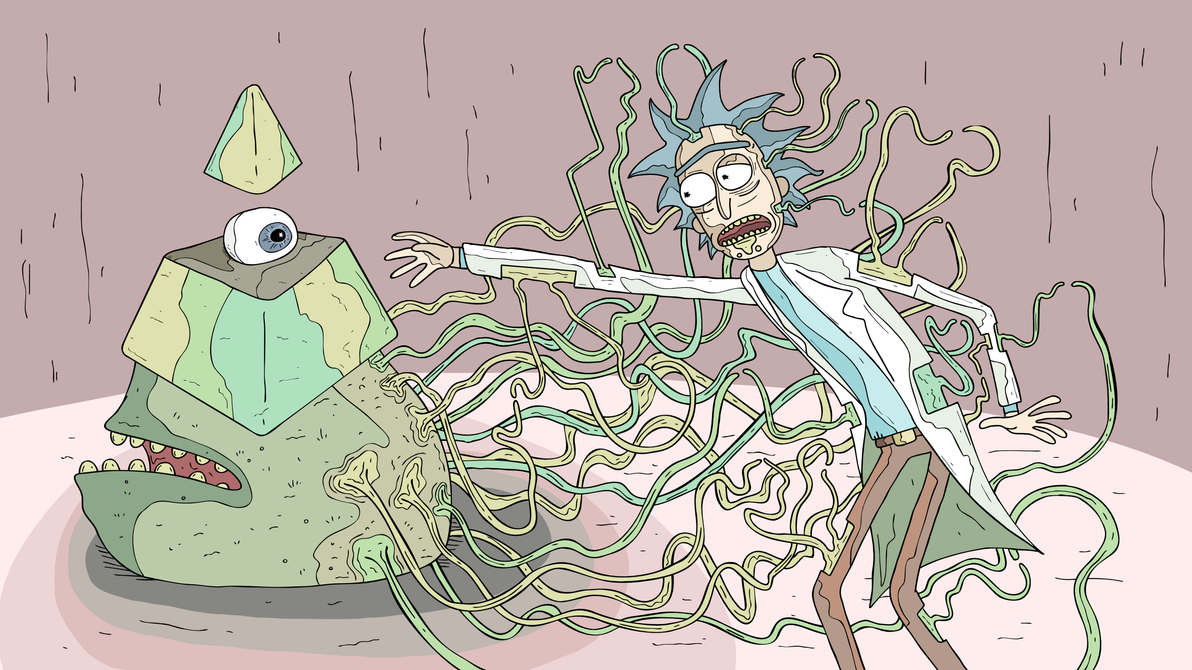 Rick Finally Assimilates Into The Illuminati by edwarddinzole