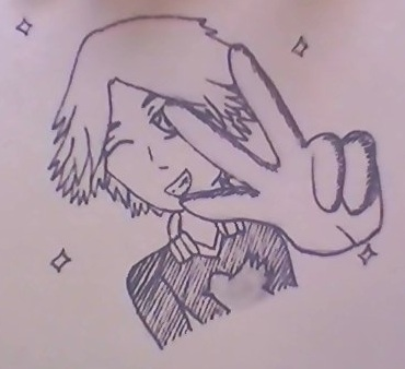 My drawing of Yosuke by Sweetgirl333