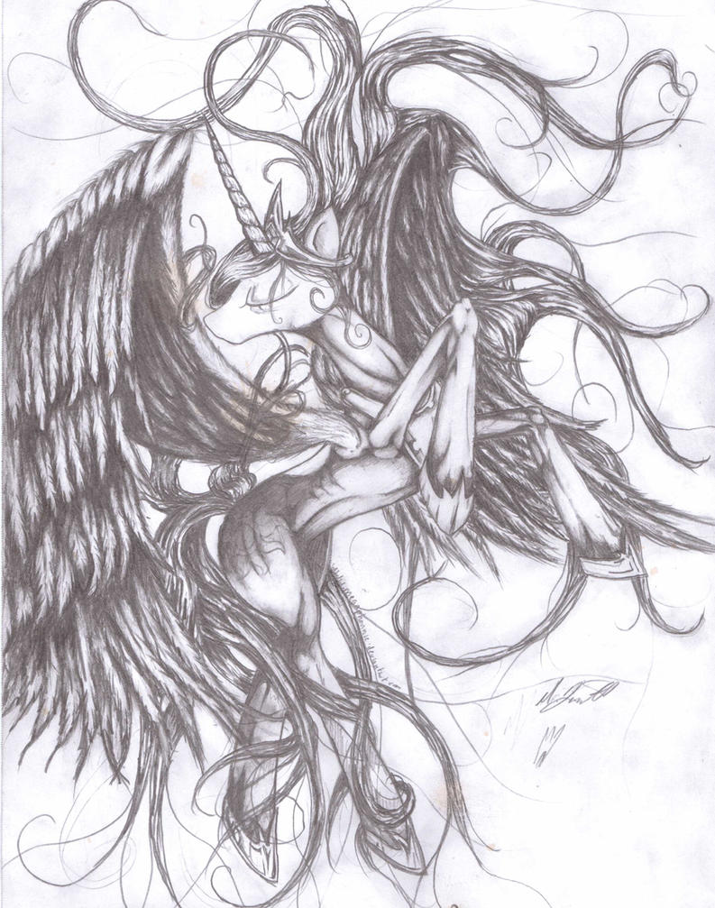 Celestia by megaphonnic