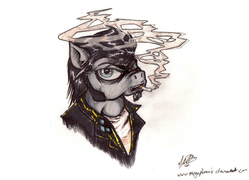 Sketchy Icon [A.T] by megaphonnic