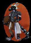 commission - dragonborn knight
