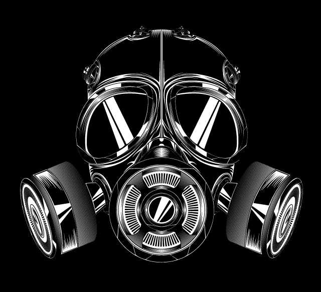 Badass gas mask by mobibobi on deviantart badass gas mask by mobibobi voltagebd Images