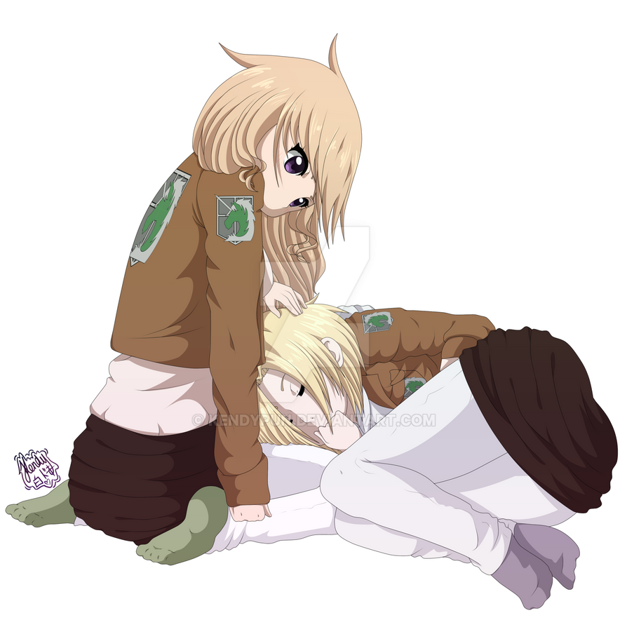 Attack On Titan OC~ Sleep As Much As You Wish~ By KendyPun