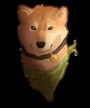 Shaded Sketch of Mogi